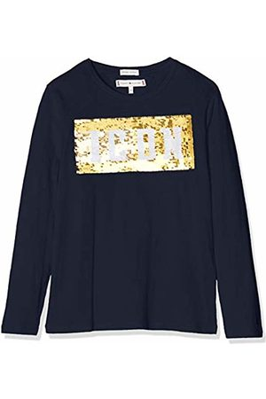 Tommy Hilfiger Girl's Sequin Tommy Icon Tee L/s Long Sleeve Top