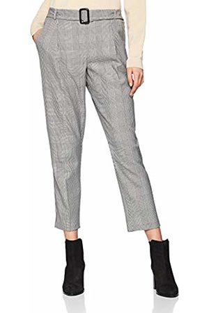 New Look Women's Dogtooth Cuckle 6050332 Trousers