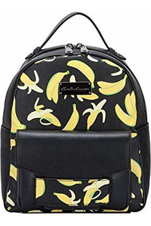 Claudia Canova Womens Banana Print - Zip Fastening Pcktd Bckpk Backpack (Banana)