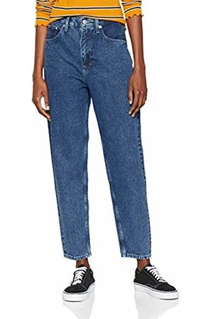 Tommy Hilfiger Women's High Rise Tapered Straight Jeans