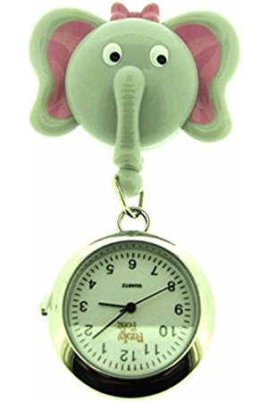 FunkyFobz Elephant Retractable Pulley Watch Nurse Doctor Midwife HCA