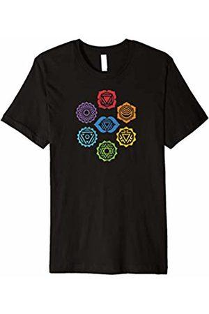 Chakra Energy - Yoga Meditation T-shirts Seven Chakras yoga meditation energy t-shirt