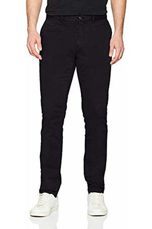 Tommy Hilfiger Men's Straight Denton Chino GMD Flex Trouser, (Jet 083)