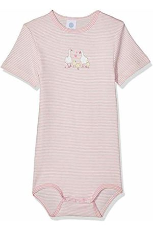 Sanetta Baby Girls' Body 1/2 Stripe W.Print Shaping Bodysuit