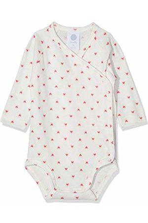 Sanetta Baby Girls' Wrapover Body 1/1 Allover Shaping Bodysuit