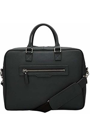 Smith & Canova Mens Twin Strap Briefcase Top-Handle Bag