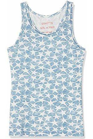 Sanetta Girl's Shirt W/o Sleeves Allover Vest, (Coronet 50301)