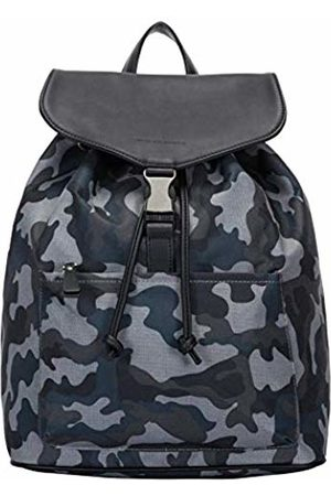 Smith & Canova Mens Front Pocketed Drawstring - Clasped Bkpk Backpack (Camo)