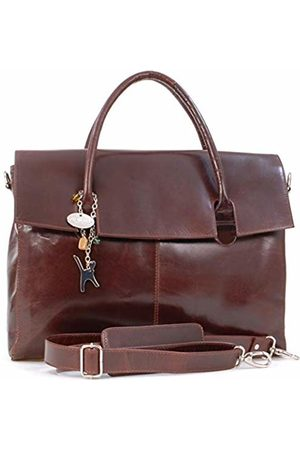 Catwalk Collection Handbags Catwalk Collection Over-Sized Laptop Bag - Vintage Leather - Helena