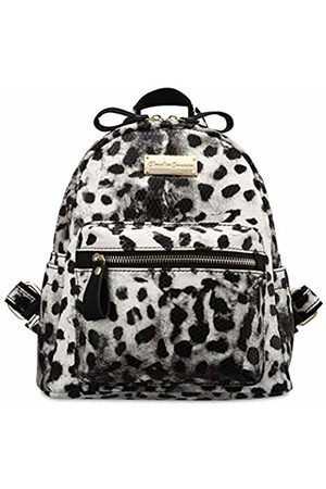 Claudia Canova Womens Small Backpack With Front Pocket Backpack (Leopard)