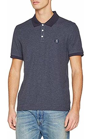 Original Penguin Men's Patch Pique Polo Shirt, (Dark Sapphire)