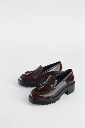 c42a940bda8 Zara sale uk women s brogues   loafers