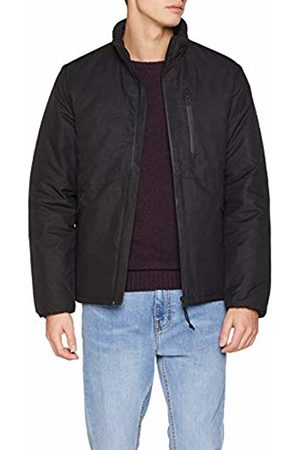 Springfield Men's 5Wo-Chaqueta Sealed Zips Jacket, (Negro 1)