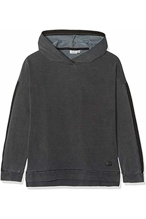 Name it Boy's Nkmtao Sweat W. Hood DNM 6154 Noos Sweatshirt, Dark Denim
