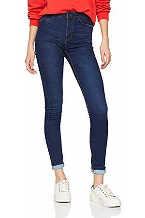 JDY Women's ella Jegging Hw DNM Noos Skinny Jeans, Dark Denim