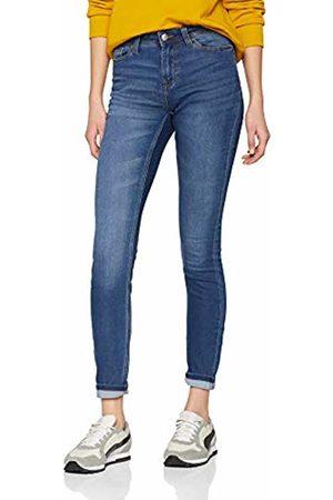 JDY Women's jake Skinny Rw Med DNM Noos Jeans, Medium Denim