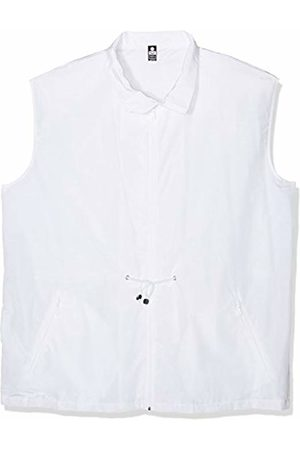 Trigema Men's Jacket White Weiß (Weiss 001) Medium