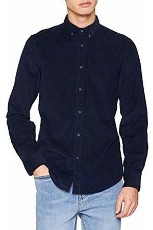 Springfield Men's Wf Microcorduroy Solid Fr Casual Shirt
