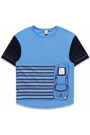 Esprit Boys Short Sleeve - Kids Boy's Short Sleeve Tee-Shirt T (Azur 443)