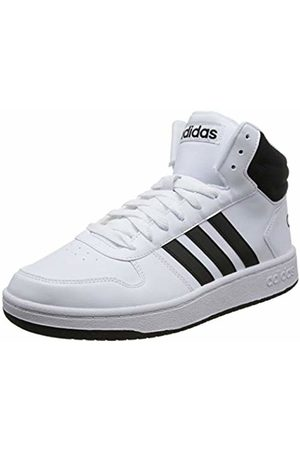 adidas Men's Hoops 2.0 Mid Basketball Shoes, FTWR Core