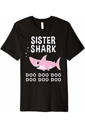 Shark Family Shirts Sister Shark Shirt for Matching Family Pajamas