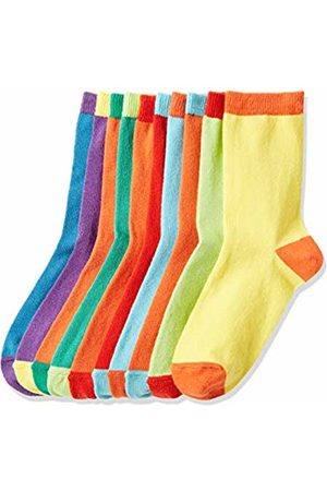 RED WAGON Boy's Coloured Heels Calf Socks, 31-34 (Manufacturer Size: 12-3 UK)