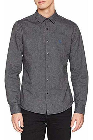 Springfield Men's Oxford Melange Casual Shirt