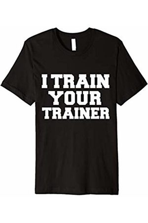 Gym Life Lovers 5000 I Train Your Trainer Funny T-shirt Gym Workout Fit Fitness