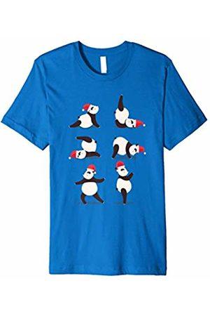Yoga Class Teacher T-Shirts Christmas Yoga Class Teacher Panda T-Shirt