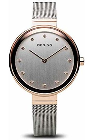 Bering Womens Analogue Quartz Watch with Stainless Steel Strap 12034-064