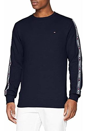 Tommy Hilfiger Men's Track Ls Hwk Sweater