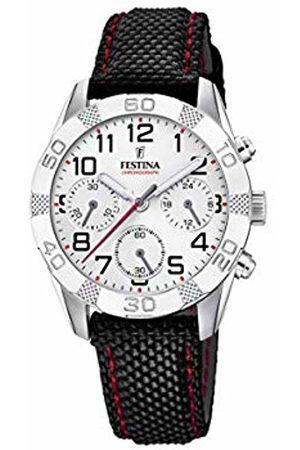Festina Boys Chronograph Quartz Watch with Textile Strap F20346/1