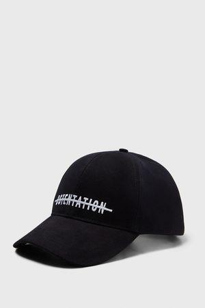 Zara EMBROIDERED SLOGAN CAP