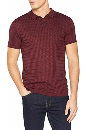 New Look Men's Viscose Cable 5948437 Polo Shirt