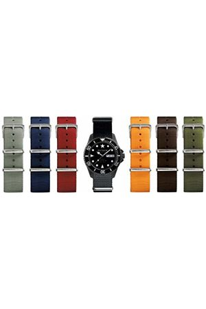 Oxygen Moby Dick 44 Limited Edition Set Unisex Quartz Watch with Dial Analogue Display and Nylon Strap