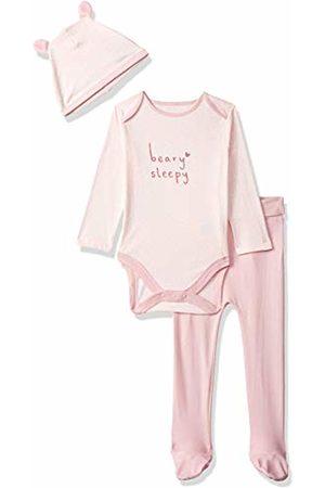Mothercare Baby Girls' Animal Dress Short Sleeve UP 3 Piece Bear Set Clothing, (Lights Multi)