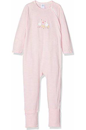 Sanetta Baby Girls' Overall Long Sleepsuit, (Scampi)
