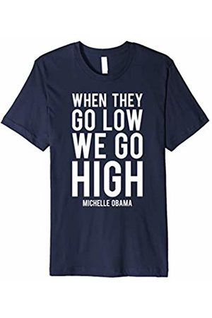 New Look Michelle Obama Shirt - When They Go Low We Go High