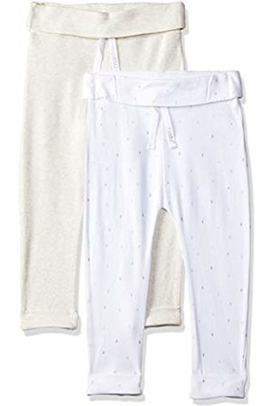 Mothercare Baby 2 Pack Jogger Track Bottoms, (Oatmeal)
