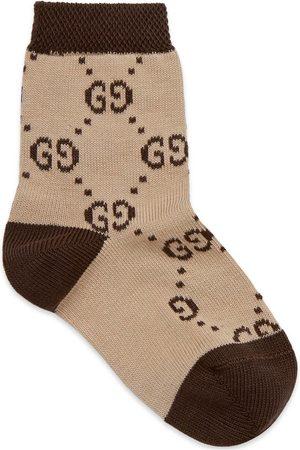 Gucci Baby Socks - Baby GG socks
