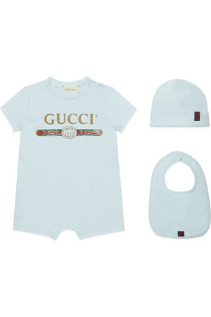 Gucci Baby Baby cotton gift set with logo