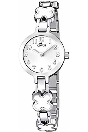 Lotus Girls Analogue Quartz Watch with Stainless Steel Strap 15828/1