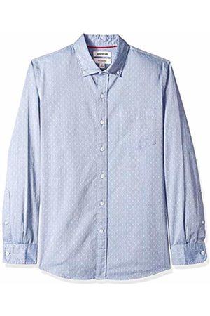Goodthreads Men's Slim-Fit Long-Sleeve Dobby Shirt, - /multi diamond