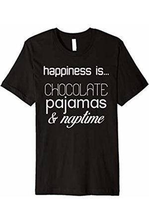 Shirts Made By Mom Happiness is...chocolate, pajamas