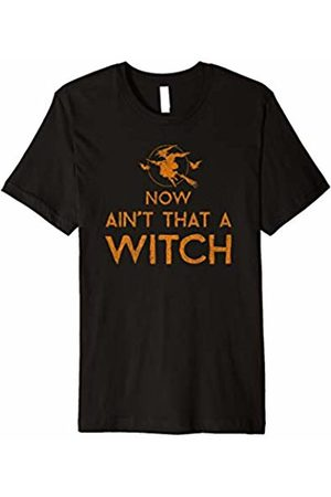 Hybrid Ain't That a Witch Halloween Tee