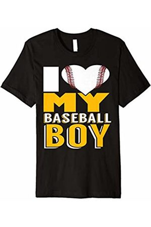 New Look Mother's Day T-Shirt Gift - I Love My Baseball Boy