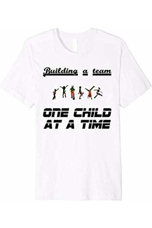 Shirts Made By Mom Building a Team One Child at a Time short sleeve tee