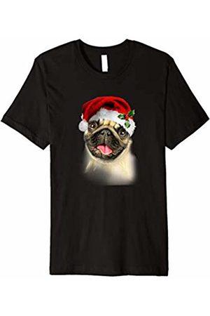 Hybrid Santa Pug Ugly Christmas Tee