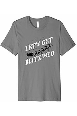 Hybrid Let's Get Blitzened Ugly Christmas Tee