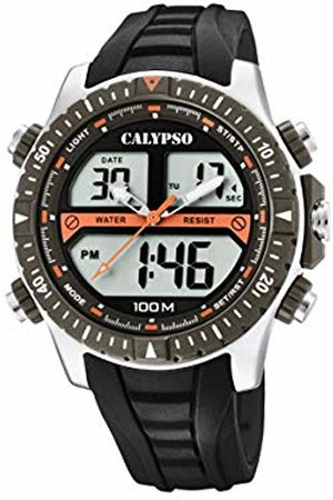 Calypso watches Mens Analogue-Digital Quartz Watch with Plastic Strap K5773/1